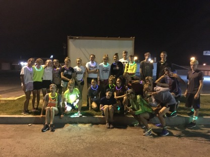 Midnight run on Friday, August 10 from Shellie's Cafe.