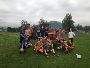Bengal boys post-tempo workout at Northwest Park on August 21.